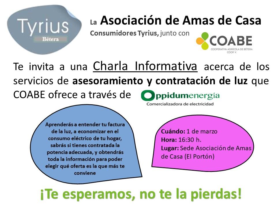 CHARLA AMAS DE CASA